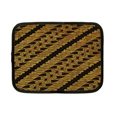 Traditional Art Indonesian Batik Netbook Case (small)