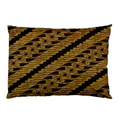 Traditional Art Indonesian Batik Pillow Case by BangZart