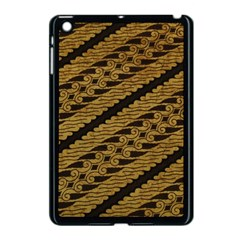Traditional Art Indonesian Batik Apple Ipad Mini Case (black) by BangZart