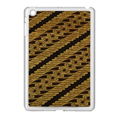 Traditional Art Indonesian Batik Apple Ipad Mini Case (white) by BangZart