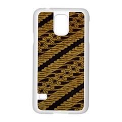 Traditional Art Indonesian Batik Samsung Galaxy S5 Case (white)