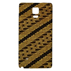 Traditional Art Indonesian Batik Galaxy Note 4 Back Case