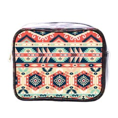 Aztec Pattern Mini Toiletries Bags by BangZart