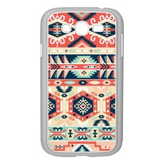Aztec Pattern Samsung Galaxy Grand Duos I9082 Case (white)