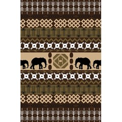 Elephant African Vector Pattern 5 5  X 8 5  Notebooks by BangZart