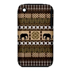 Elephant African Vector Pattern Iphone 3s/3gs by BangZart