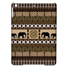 Elephant African Vector Pattern Ipad Air Hardshell Cases
