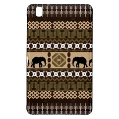 Elephant African Vector Pattern Samsung Galaxy Tab Pro 8 4 Hardshell Case