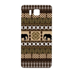 Elephant African Vector Pattern Samsung Galaxy Alpha Hardshell Back Case
