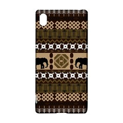 Elephant African Vector Pattern Sony Xperia Z3+