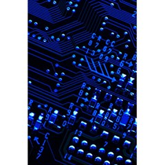 Blue Circuit Technology Image 5 5  X 8 5  Notebooks