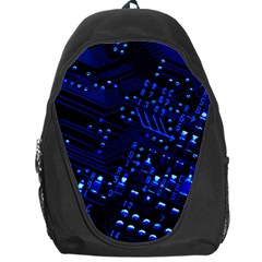 Blue Circuit Technology Image Backpack Bag