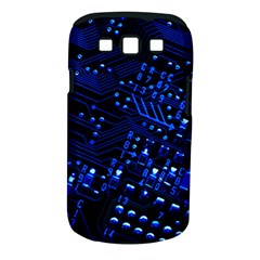 Blue Circuit Technology Image Samsung Galaxy S Iii Classic Hardshell Case (pc+silicone)
