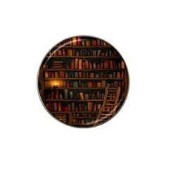 Books Library Hat Clip Ball Marker
