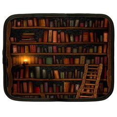 Books Library Netbook Case (xxl)