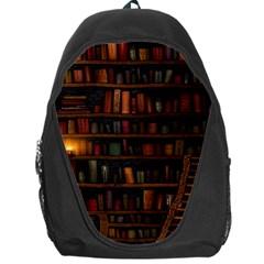 Books Library Backpack Bag