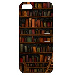Books Library Apple Iphone 5 Hardshell Case With Stand