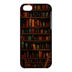 Books Library Apple Iphone 5c Hardshell Case
