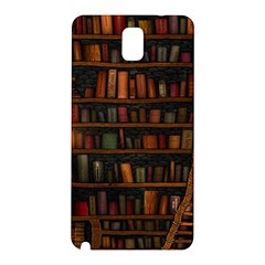 Books Library Samsung Galaxy Note 3 N9005 Hardshell Back Case