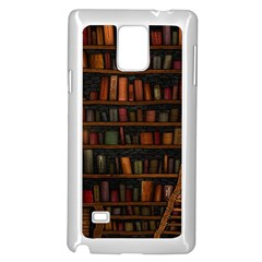 Books Library Samsung Galaxy Note 4 Case (white)