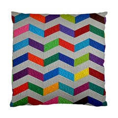 Charming Chevrons Quilt Standard Cushion Case (one Side)