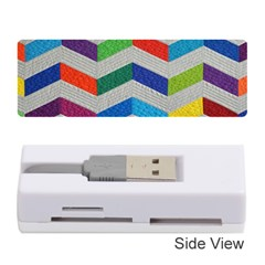 Charming Chevrons Quilt Memory Card Reader (stick)