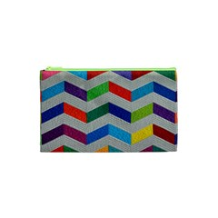 Charming Chevrons Quilt Cosmetic Bag (xs)