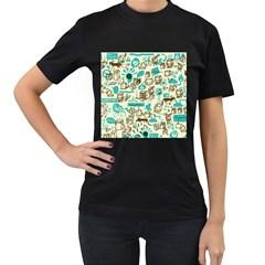 Telegramme Women s T Shirt (black)