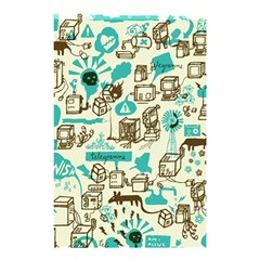Telegramme Shower Curtain 48  X 72  (small)