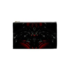 Black Dragon Grunge Cosmetic Bag (small)