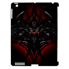 Black Dragon Grunge Apple Ipad 3/4 Hardshell Case (compatible With Smart Cover) by BangZart