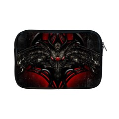 Black Dragon Grunge Apple Ipad Mini Zipper Cases by BangZart