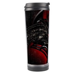 Black Dragon Grunge Travel Tumbler by BangZart