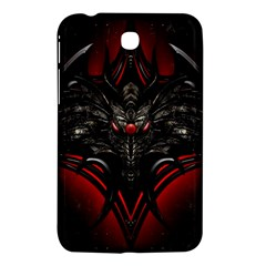 Black Dragon Grunge Samsung Galaxy Tab 3 (7 ) P3200 Hardshell Case
