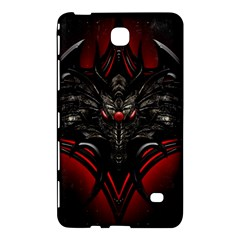 Black Dragon Grunge Samsung Galaxy Tab 4 (7 ) Hardshell Case