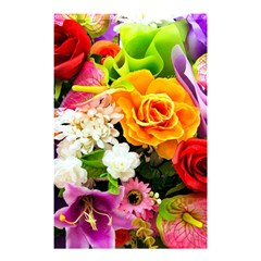 Colorful Flowers Shower Curtain 48  X 72  (small)