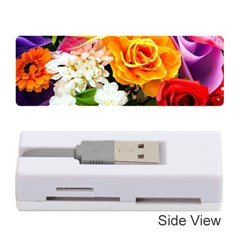 Colorful Flowers Memory Card Reader (stick)