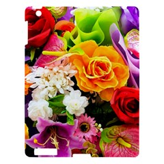 Colorful Flowers Apple Ipad 3/4 Hardshell Case