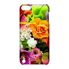 Colorful Flowers Apple Ipod Touch 5 Hardshell Case With Stand by BangZart