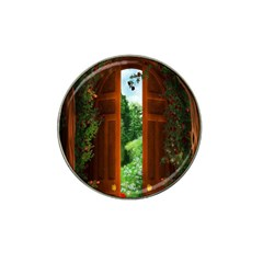 Beautiful World Entry Door Fantasy Hat Clip Ball Marker (10 Pack) by BangZart