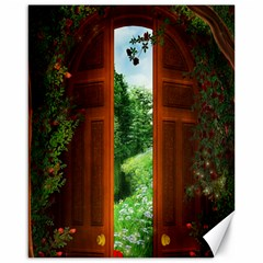 Beautiful World Entry Door Fantasy Canvas 16  X 20   by BangZart