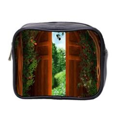 Beautiful World Entry Door Fantasy Mini Toiletries Bag 2 Side