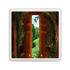 Beautiful World Entry Door Fantasy Memory Card Reader (square)