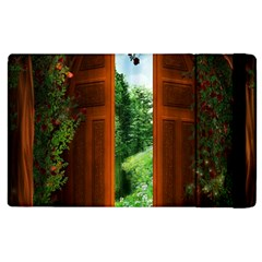 Beautiful World Entry Door Fantasy Apple Ipad 3/4 Flip Case by BangZart
