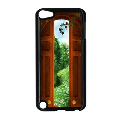 Beautiful World Entry Door Fantasy Apple Ipod Touch 5 Case (black)