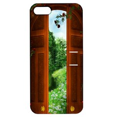 Beautiful World Entry Door Fantasy Apple Iphone 5 Hardshell Case With Stand