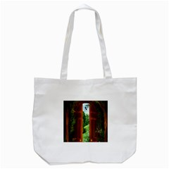 Beautiful World Entry Door Fantasy Tote Bag (white) by BangZart