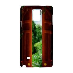 Beautiful World Entry Door Fantasy Samsung Galaxy Note 4 Hardshell Case