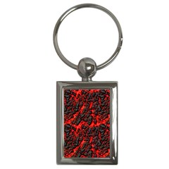 Volcanic Textures  Key Chains (rectangle)