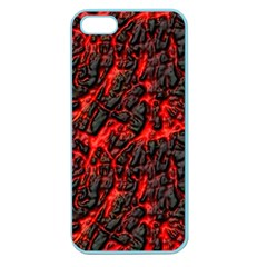 Volcanic Textures  Apple Seamless Iphone 5 Case (color)